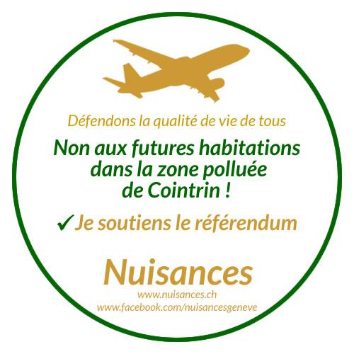 NON AUX FUTURES HABITATIONS DANS LA ZONE POLLUÉE DE COINTRIN !